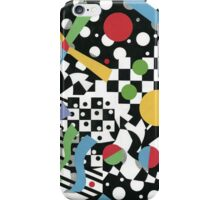 Ticker Tape Geometric Design iPhone Case/Skin