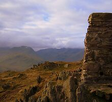 The Lake District: Trig Point on Place Fell by Rob Parsons