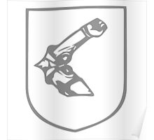 A Complete Guide to Heraldry - Figure 269 — An arm embowed in armour Poster