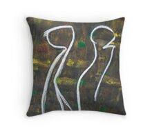 2 Entities Throw Pillow