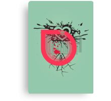 For Love Not Money Canvas Print