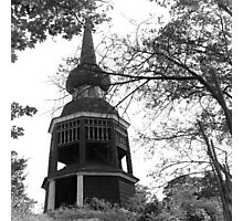 Old wooden tower, Stockholm Photographic Print