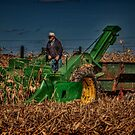 JD Corn Picker by Steve Baird