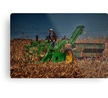 JD Corn Picker Metal Print