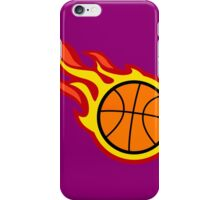 Basketball On Fire iPhone Case/Skin