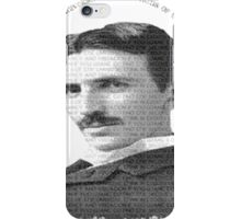 axiom6 tesla black and white iPhone Case/Skin