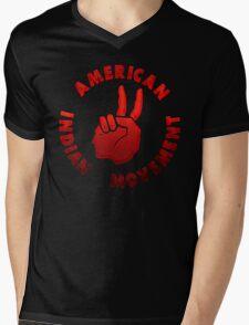 American Indian Movement Mens V-Neck T-Shirt