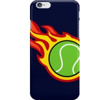 Tennis Ball On Fire iPhone Case/Skin