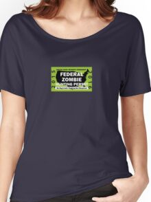 Federal/United States Zombie Hunting Permit 2015/2016 Women's Relaxed Fit T-Shirt