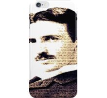 nikola tesla axiom iPhone Case/Skin