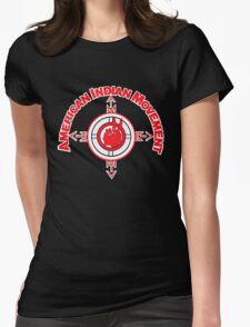 American Indian Movement Womens Fitted T-Shirt