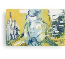 Monotype After Gauguin Canvas Print