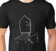A Complete Guide to Heraldry - Figure 571 — Helmet of Hamelin, Earl of Surrey and Warenne (d 1202) (From MS Cott, Julius, C vii) Unisex T-Shirt