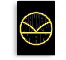 Manners Maketh Man - Alternate Version Canvas Print