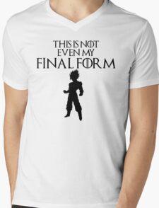 This Is Not Even My Final Form- SSJ GOKU Mens V-Neck T-Shirt