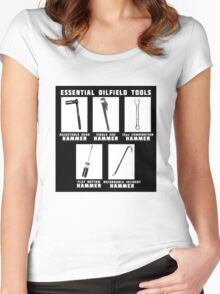 Essential Oilfield Tools Women's Fitted Scoop T-Shirt