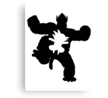 Goku Evolution- DBZ Canvas Print