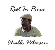 Chubbs Peterson R.I.P Photographic Print