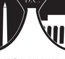 Wish You Were Here - DC Sticker