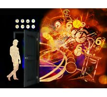 Open The Door To Time Travel Photographic Print