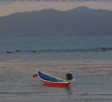 Small Longtail Thai Fishing Boat by DAdeSimone