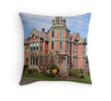 """""""Ann Starrett Mansion"""" Throw Pillow"""