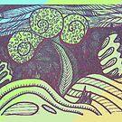 Tree Lines by Deborah Dillehay