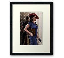 Secret Agent Framed Print