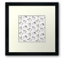Bambi Pattern!  Framed Print
