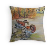 Wild Life Part I Throw Pillow