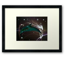 Space Time 147 Framed Print