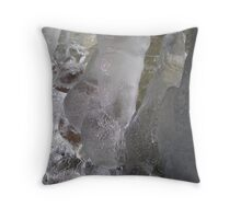 Ice Fingers Throw Pillow