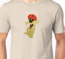 White Mushroom Heartless Unisex T-Shirt