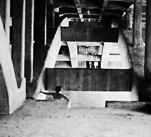 under the bridge #3 by Juilee  Pryor