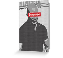 Doakes Surprise MoFo Greeting Card