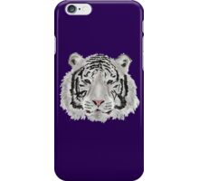 White Tiger (Purple) iPhone Case/Skin
