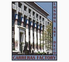 London Art Deco - Carreras Factory by David Thompson
