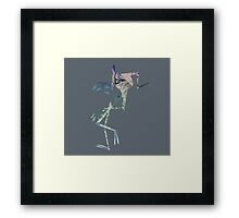 Wight Knight Heartless Framed Print