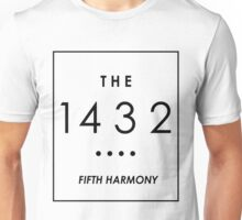 THE 1432 // WHITE ON BLACK // Unisex T-Shirt