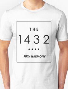 THE 1432 // WHITE ON BLACK // T-Shirt