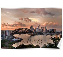 Sailors Warning -Sydney - Moods Of A City - The HDR Experience Poster