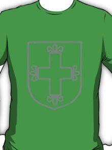 A Complete Guide to Heraldry - Figure 168 — Cross fleuretté T-Shirt