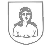 A Complete Guide to Heraldry - Figure 256 — A woman's head and bust Photographic Print