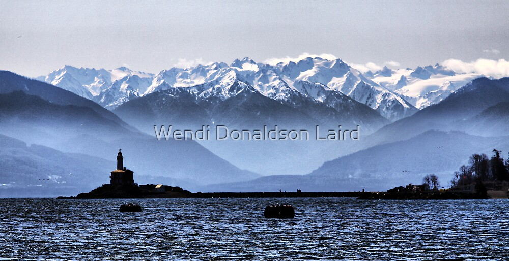Olympic View by Wendi Donaldson Laird