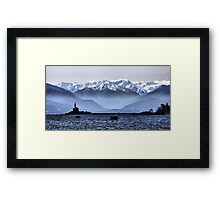 Olympic View Framed Print