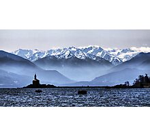 Olympic View Photographic Print