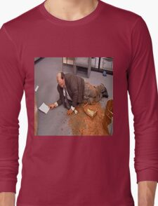 Me Trying to handle life Long Sleeve T-Shirt