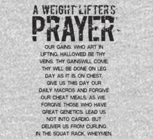 Lifter's Prayer - Black Edition by yuemha69