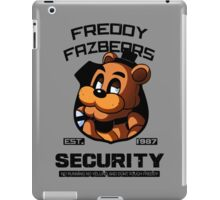 Freddy Fazbear's Security iPad Case/Skin