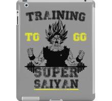 TRAINING TO GO SUPER SAIYAN  iPad Case/Skin
